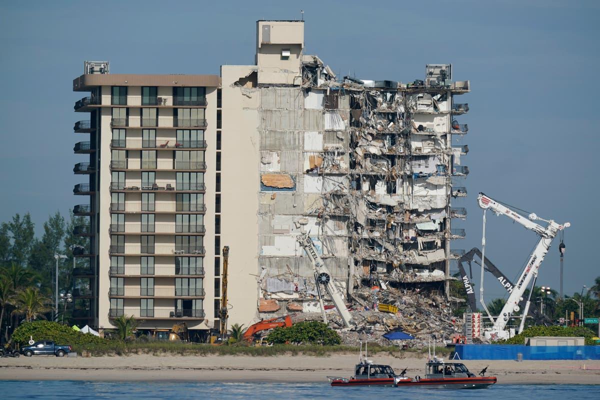 Surfside mayor: tenants must leave his building for repairs