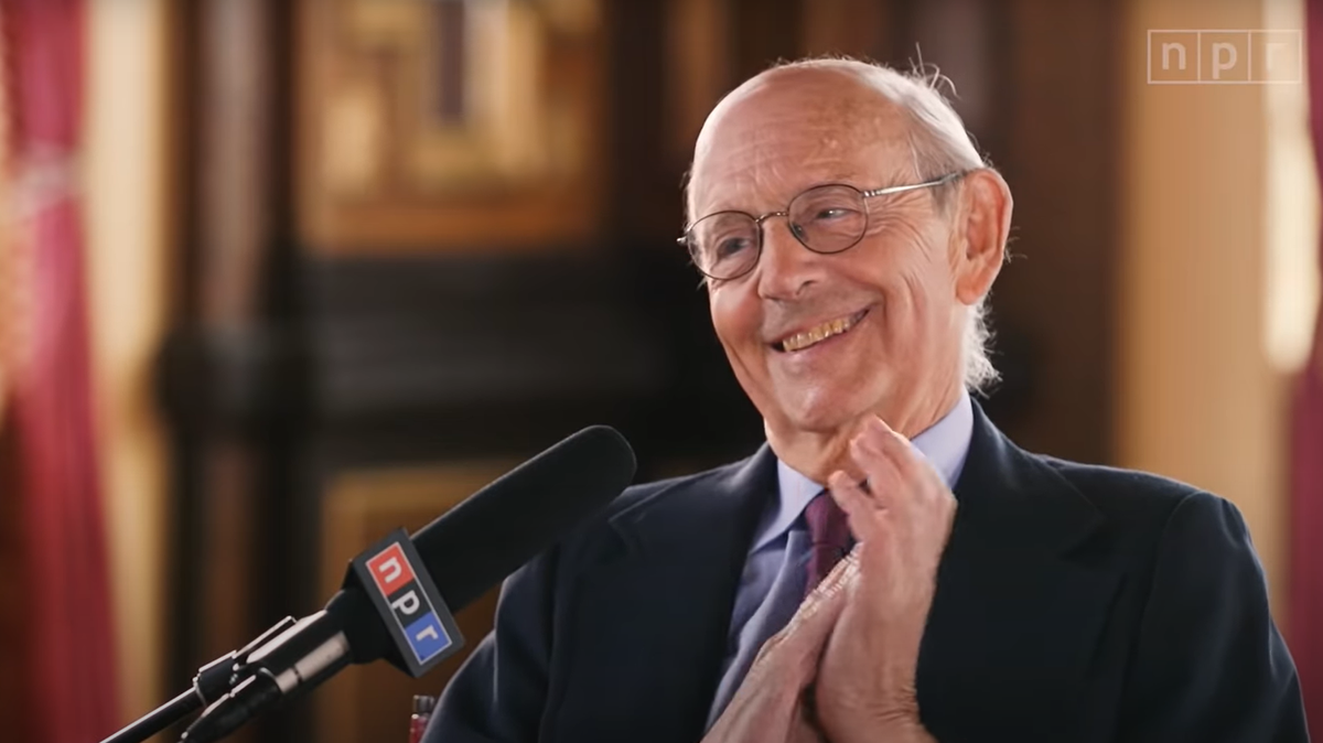 Supreme Court Justice Stephen Breyer says term limits would 'make life easier'