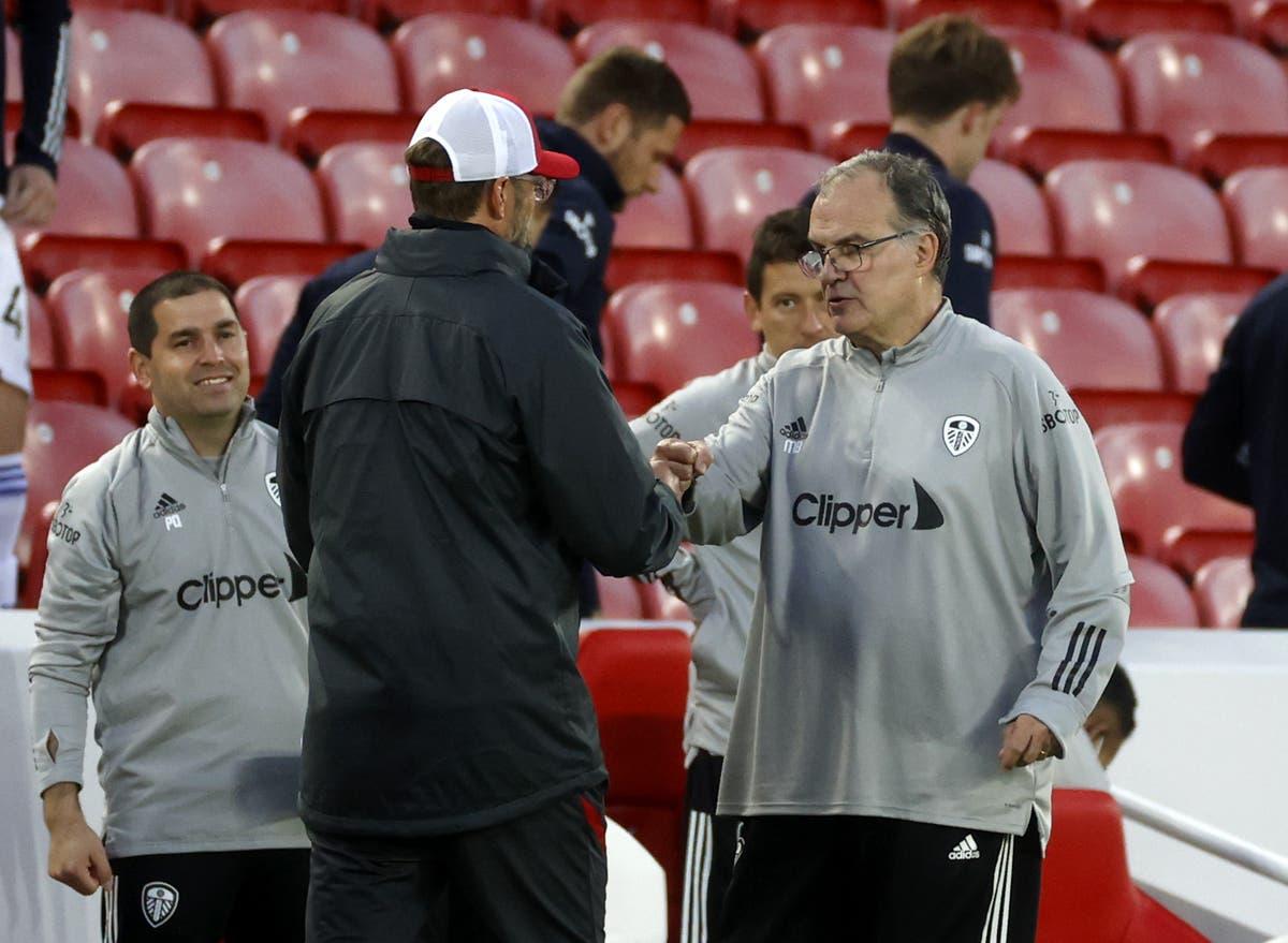 Liverpool preparing for high-intensity challenge posed by Leeds, says Jurgen Klopp