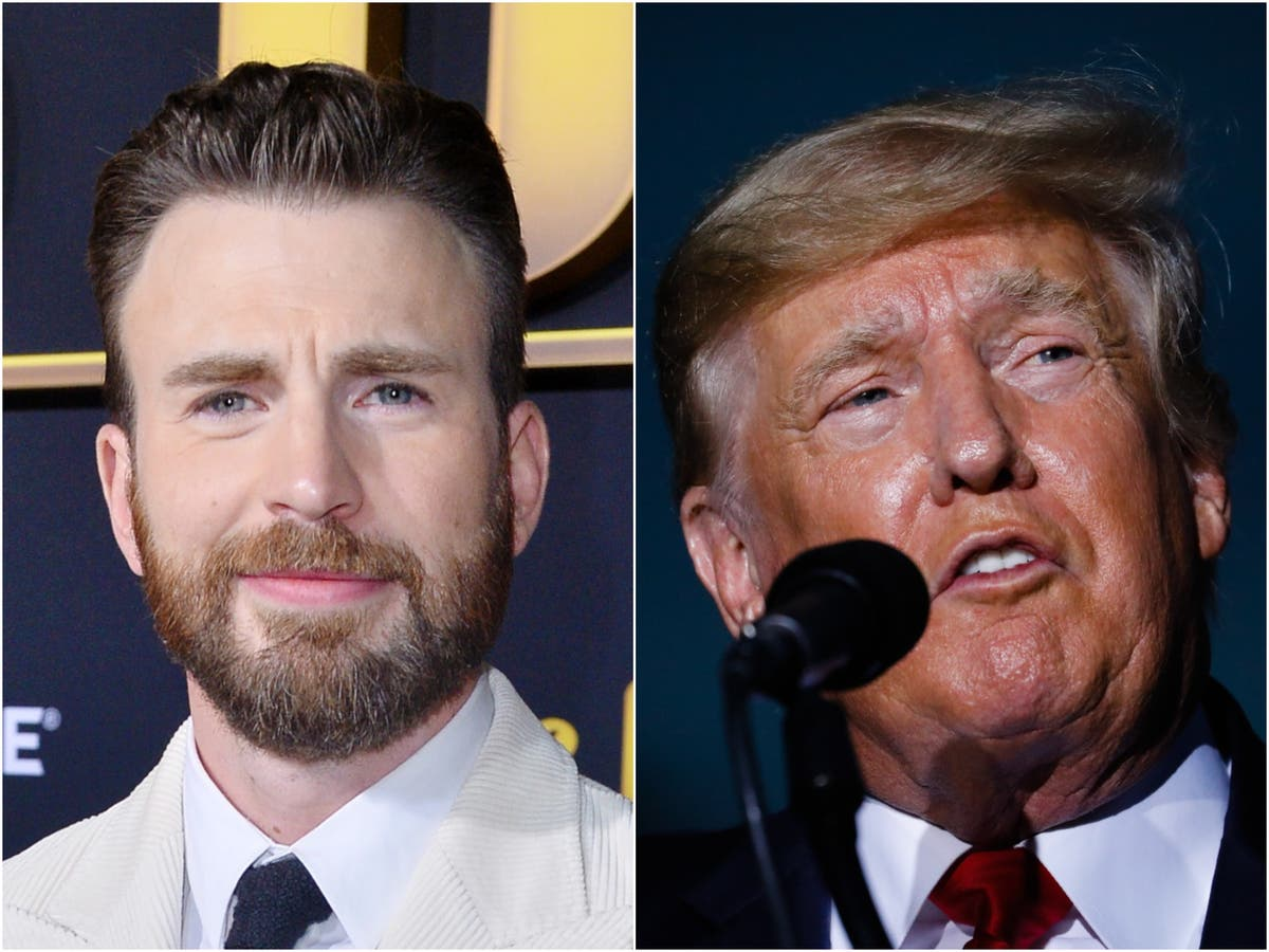 Chris Evans condemns Trump for commentating on boxing match on anniversary of 9/11