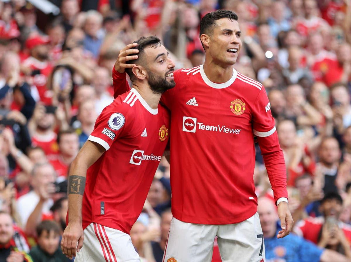 Cristiano Ronaldo scores brace on return as Man United hammer Newcastle