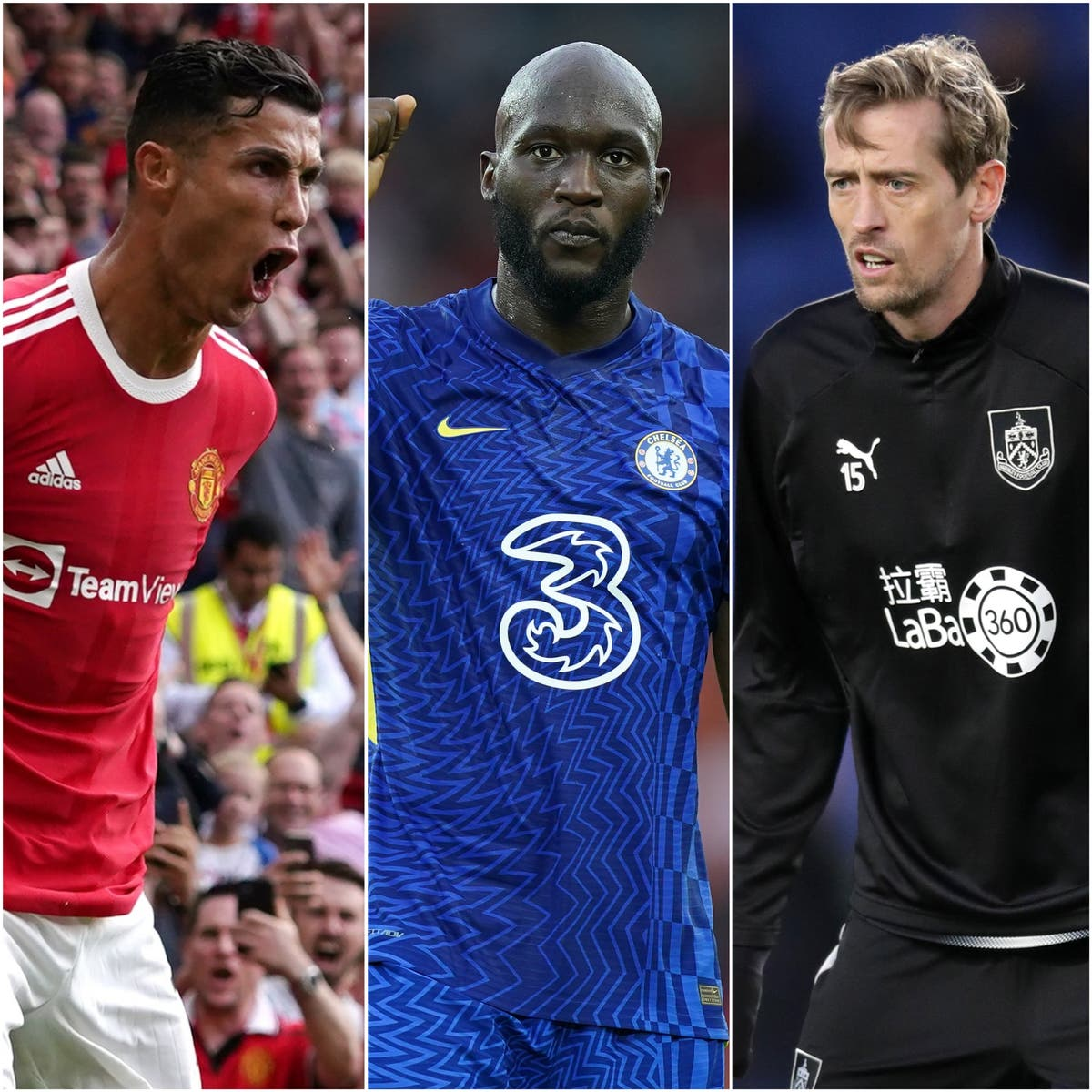 Ronaldo and Lukaku on target, Crouch has leg issues – Saturday's sporting social