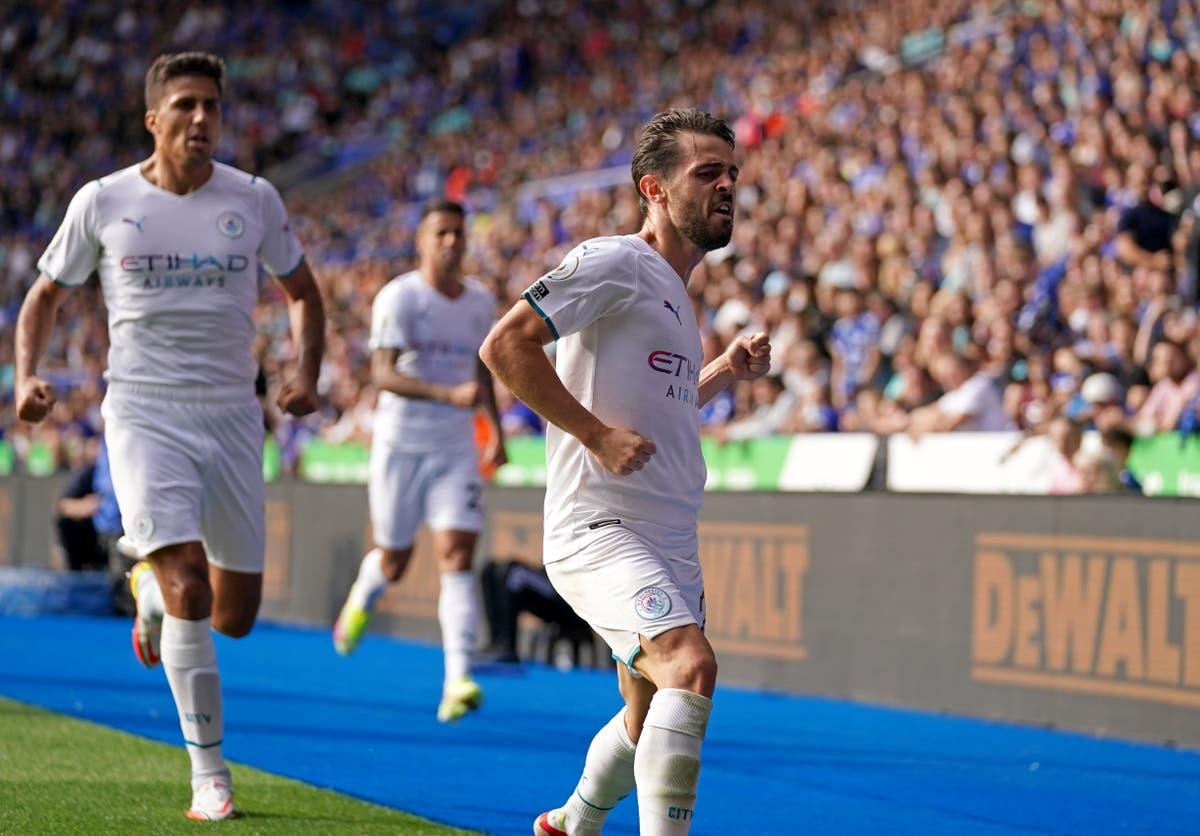Pep Guardiola delighted match-winner Bernardo Silva stayed at Manr City