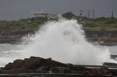 Tyfonen Chanthu dynker Taiwan med opptil 5 centimeter regn
