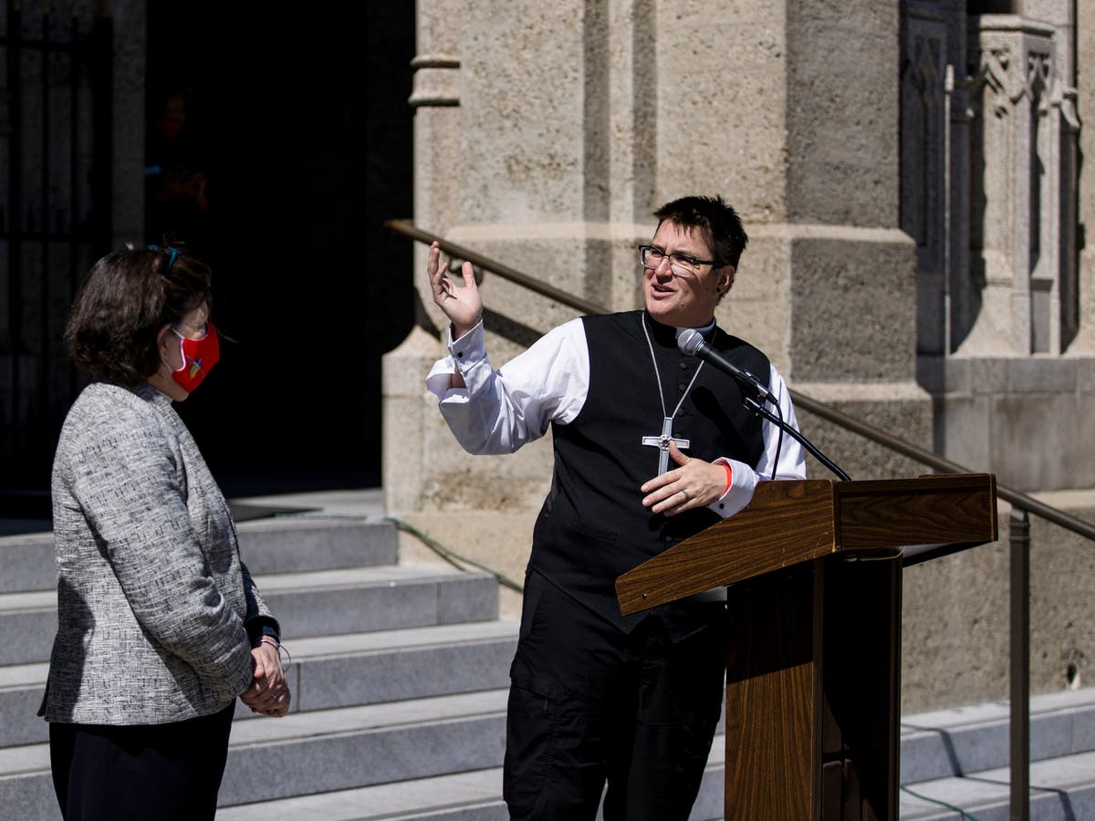 Lutheran church makes history by installing first openly transgender bishop