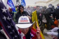 Trump claims Capitol riot suspects are being 'persecuted so unfairly' ahead of DC rally commemorating mob
