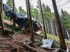Italy investigates 'kidnap' of cable car crash boy