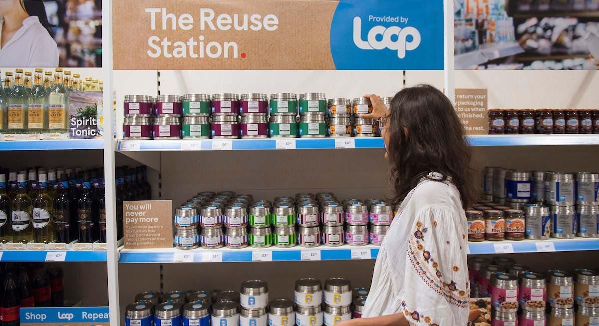 Tesco extends zero-waste shopping service trial to stores