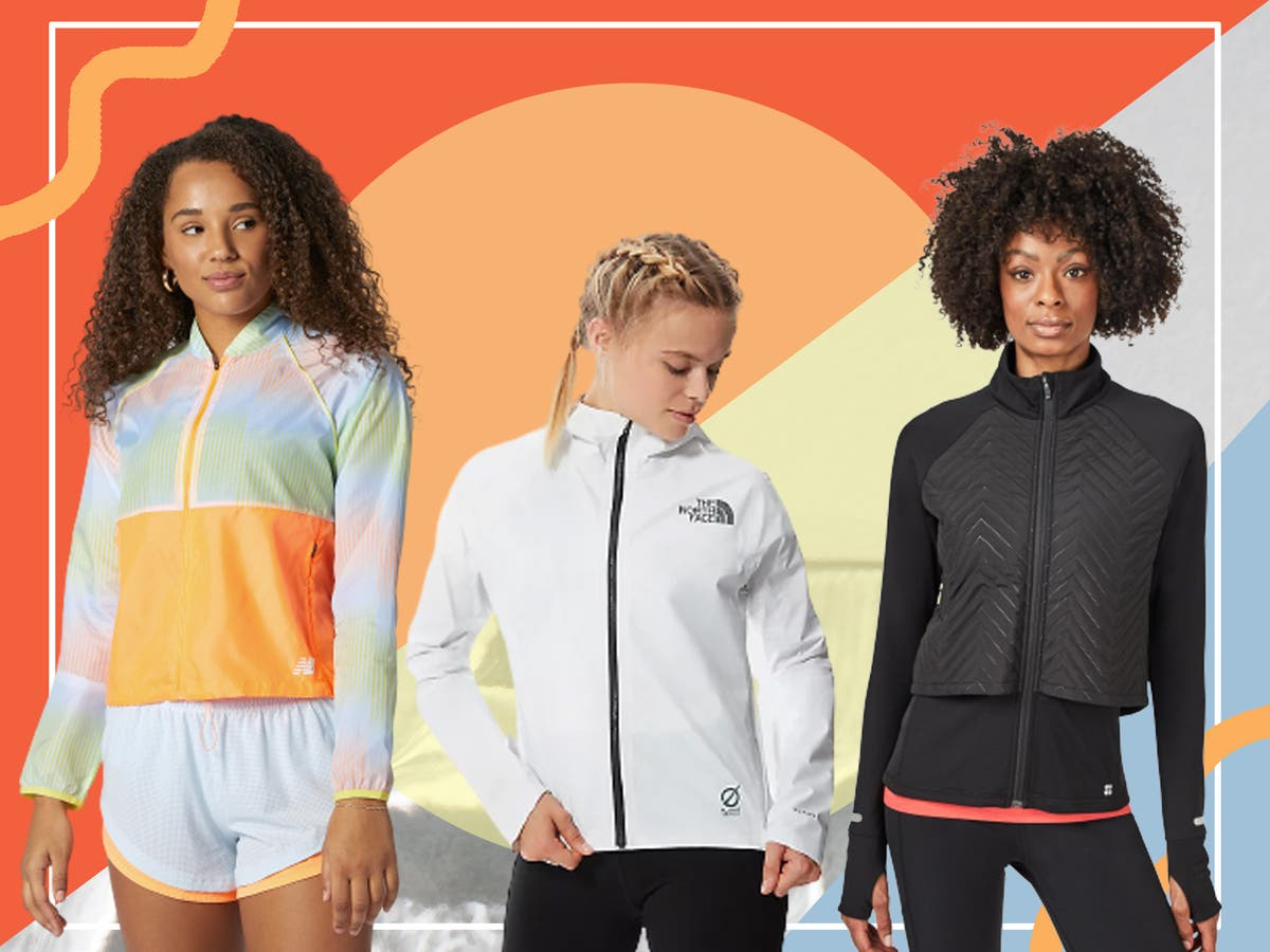 If it's not raining, it's not training! Discover our top women's running jackets