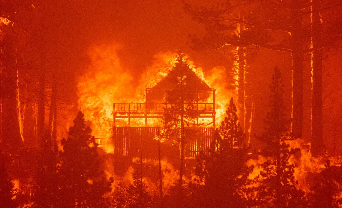 Disabled people struggle to evacuate from US wildfires