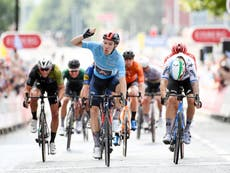 British cycling thriving as Ethan Hayter makes statement at Tour of Britain