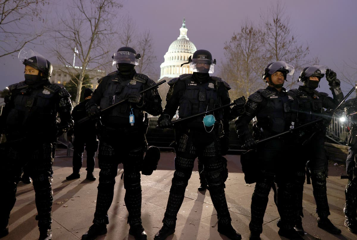 Six officers may face discipline following six January insurrection