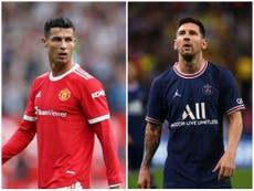 'It's not over': Cristiano Ronaldo and Lionel Messi's last dance frames new Champions League season