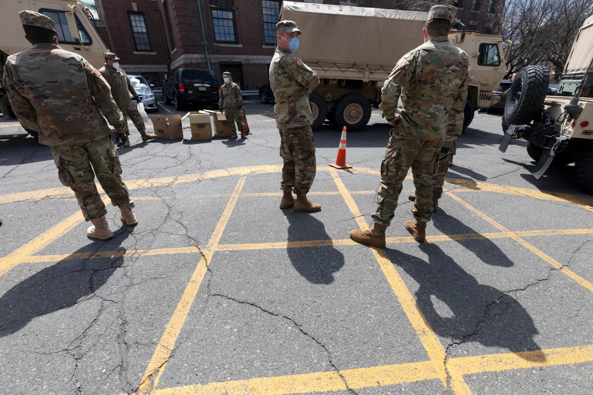 Massachusetts National Guard to help with busing students