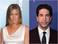 Jennifer Aniston says David Schwimmer is like her 'brother' amid dating rumours