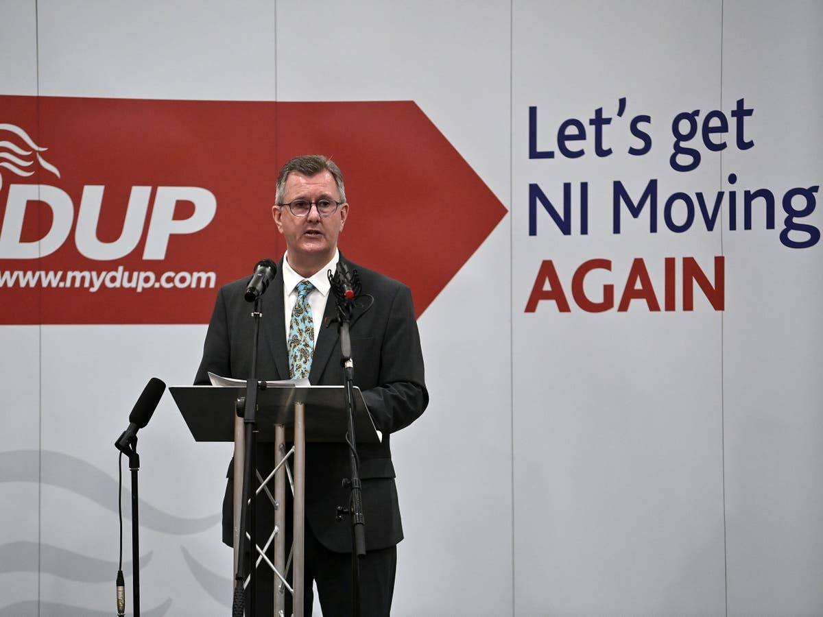 UK threatens to suspend Northern Ireland protocol – follow live