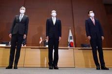 """nous, Japon, La Corée du Sud déclare qu'un dialogue """"urgent"""" est nécessaire après le test de missile nord-coréen"""