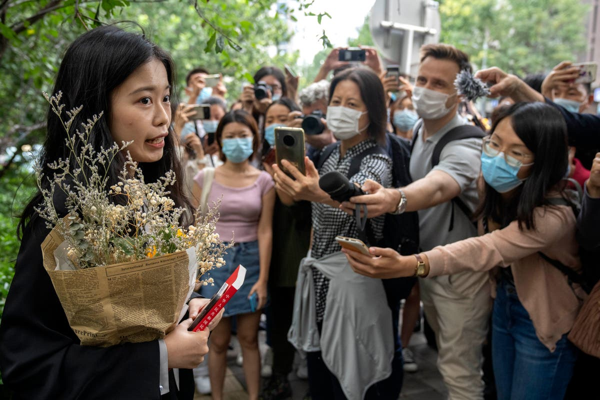 Court rules against woman who became face of China's #MeToo movement