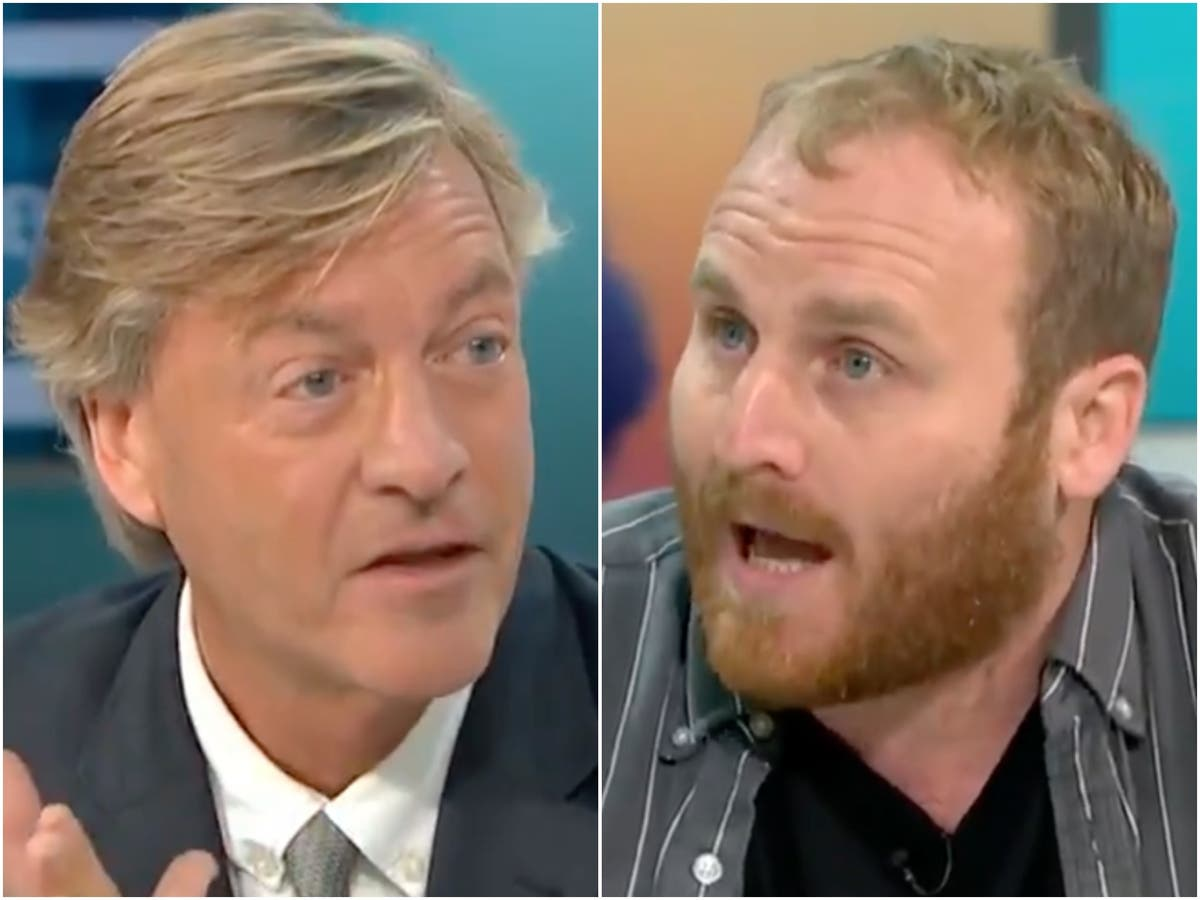 Richard Madeley criticised for calling climate activist a 'fascist' on GMB
