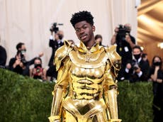 Lil Nas X fans can't get enough of his three-in-one Met Gala look