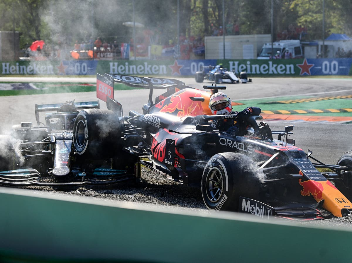 Max Verstappen 'runs you out of road', Lewis Hamilton claims