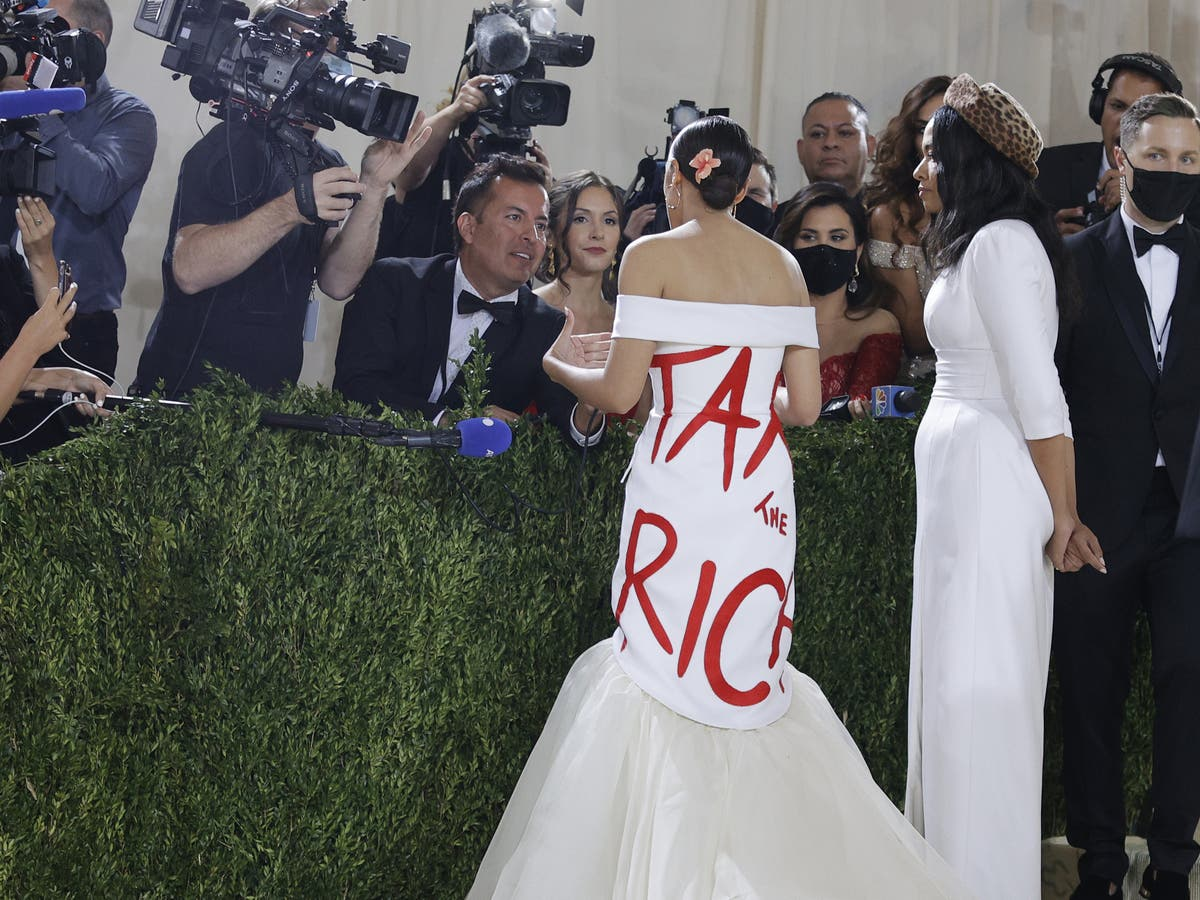 Why AOC's Met Gala dress doesn't make her a hypocrite