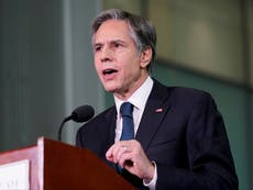 Blinken deletes tweet saying the US will 'stand with the people of Hong Kong'