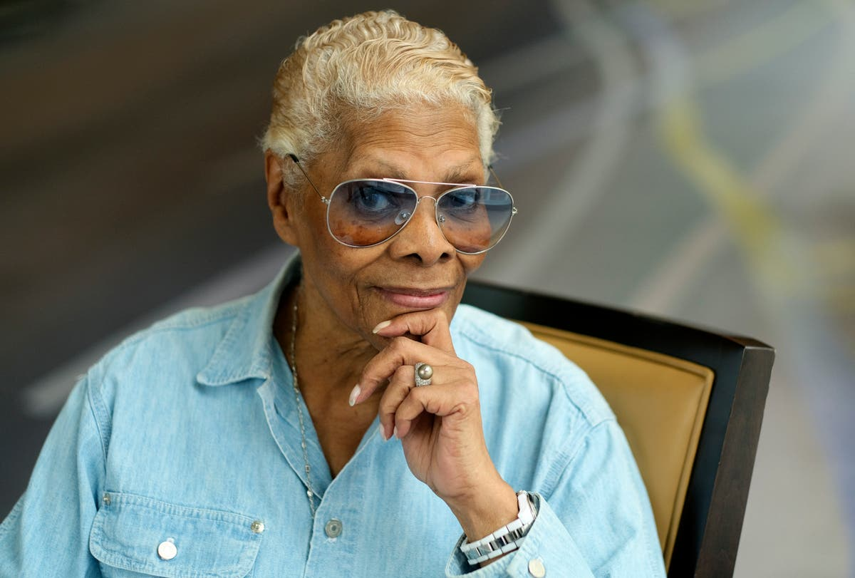 Dionne Warwick, star of a new documentary, keeps smiling