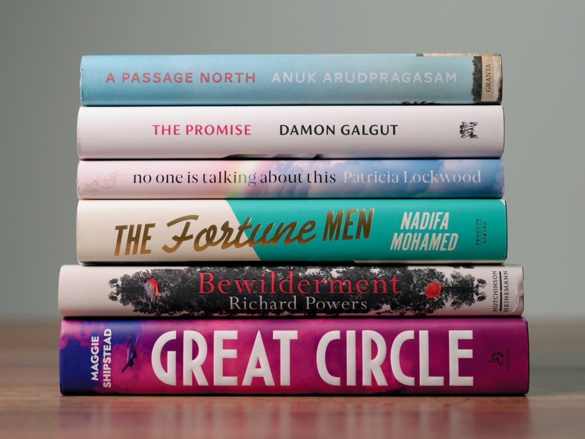 这 2021 Booker Prize shortlist has been unveiled