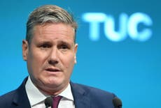Keir Starmer pledges higher minimum wage and stronger workers' rights