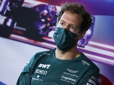 Aston Martin want Sebastian Vettel to stay on for 2022