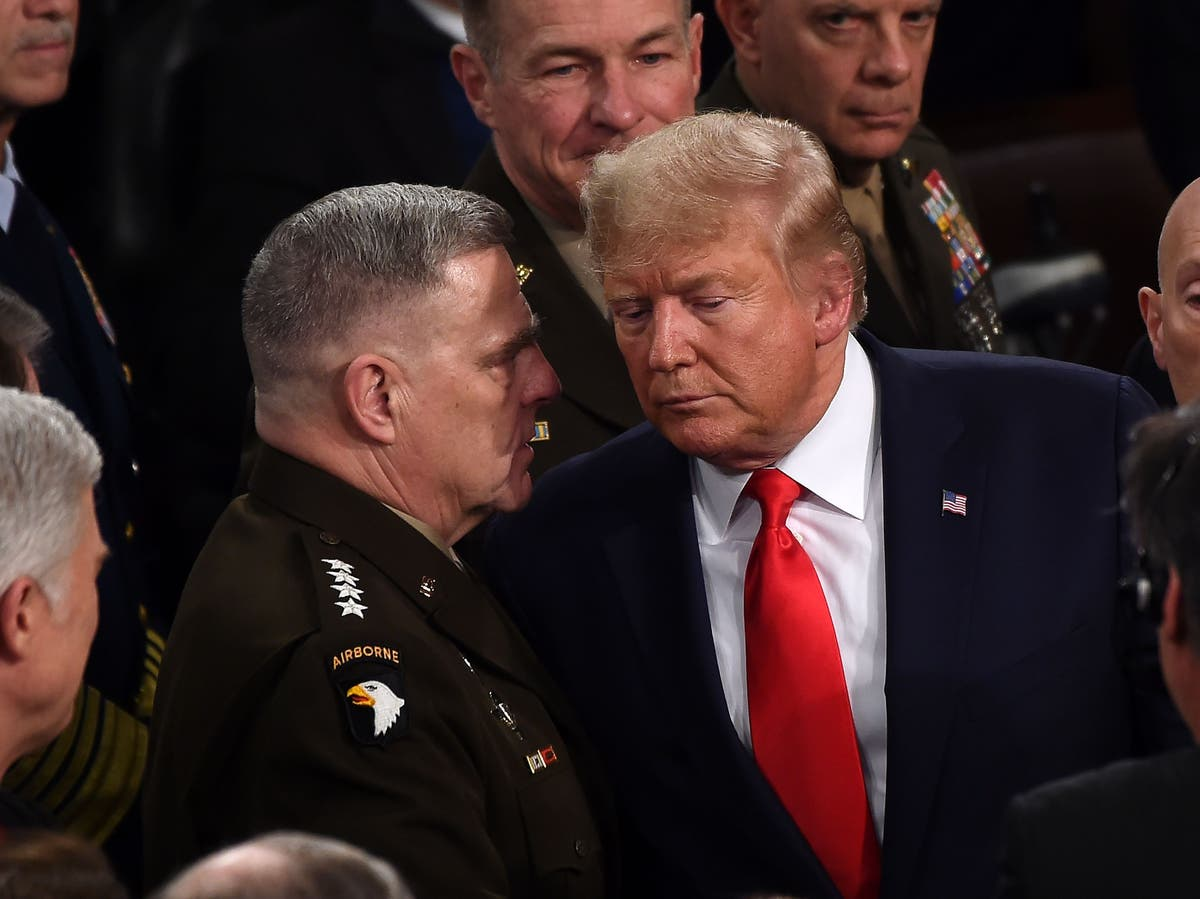 Top military general acted to prevent Trump from using nuclear weapons, book says
