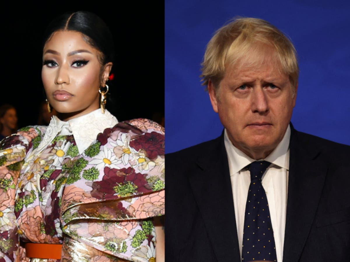 Johnson and Whitty clash with Nicki Minaj over 'ridiculous' Covid impotence myth