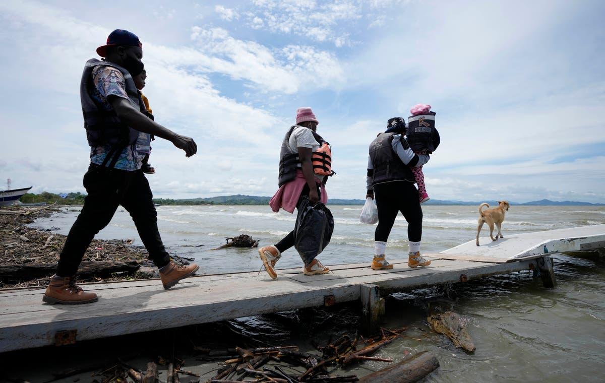 Children a big part of migration through perilous Darien Gap