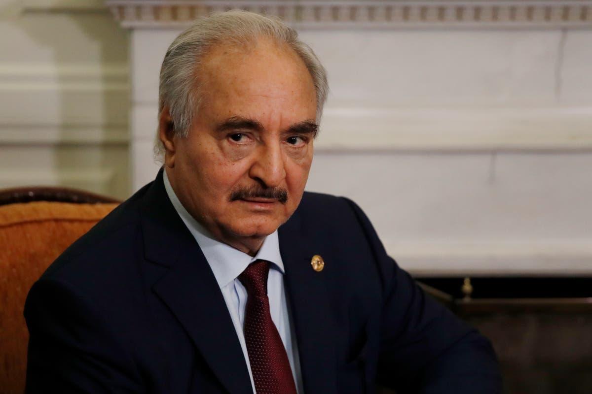 リビアの主要司令官が12月の投票に先立って職務を停止
