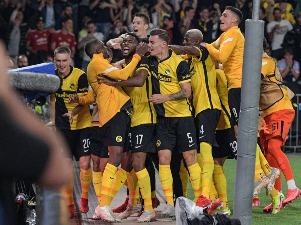 Manchester United stunned by Young Boys in Champions League opener