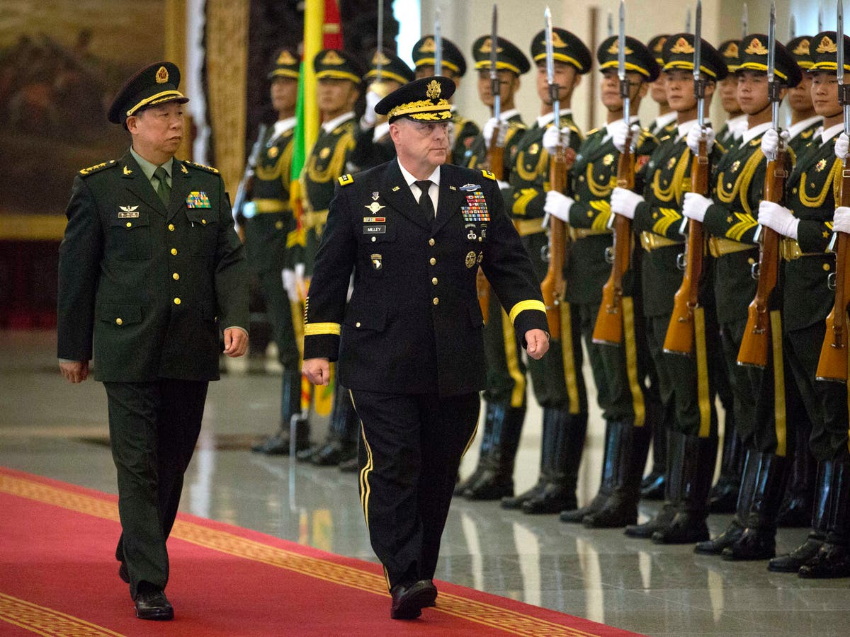 Milley called Chinese general fearing Trump might start war, book says