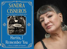 Sandra Cisneros: New novel is an overdue letter to a friend