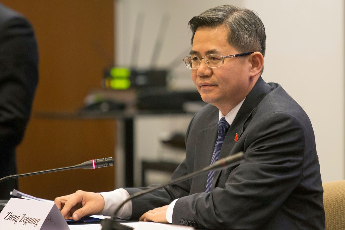 Chinese ambassador to UK barred from Parliament