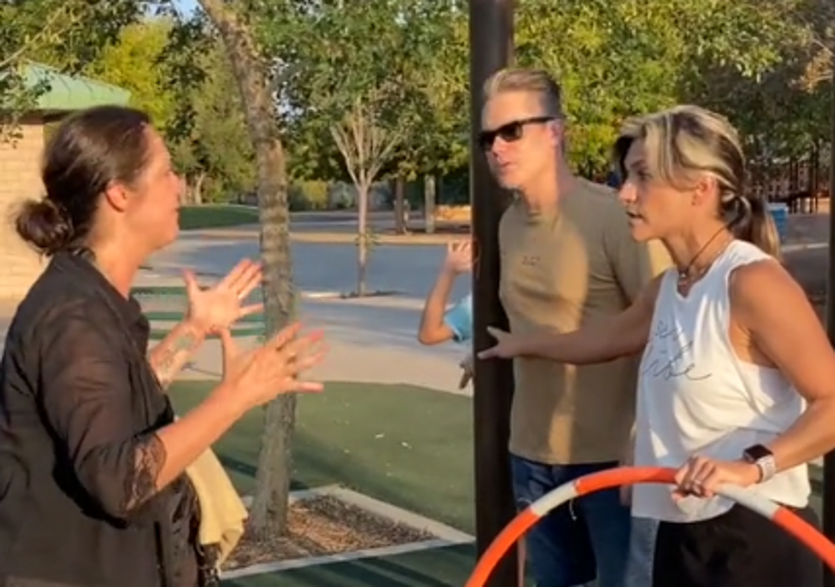 Hula hoop world record holder attacked in park for wearing 'revealing clothing'