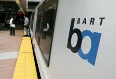 Woman dragged to death by San Francisco train while attached to her dog