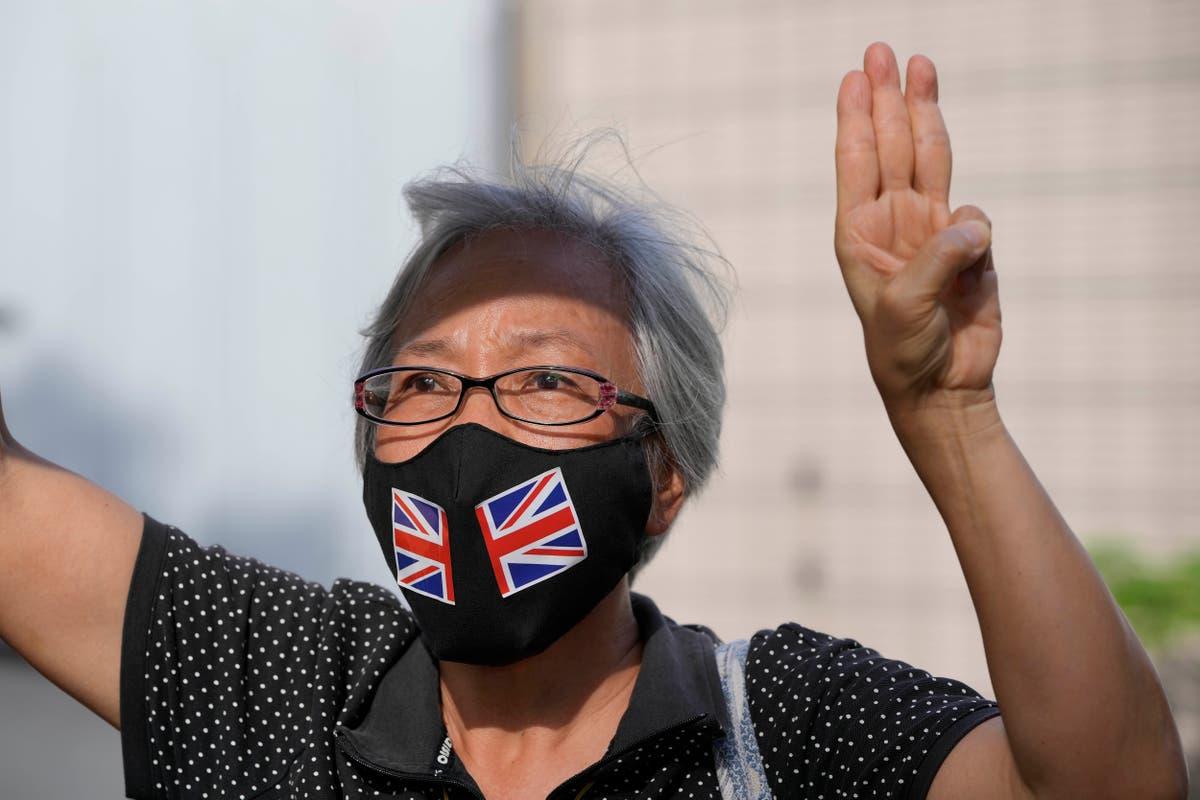 香港の活動家が天安門の取り締まり警戒を理由に投獄された