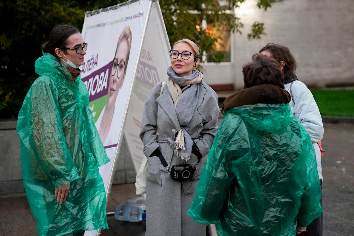 Russian feminist runs for Duma to take on domestic violence