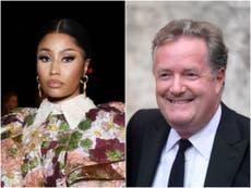 Nicki Minaj calls Piers Morgan a 'stupid piece of s***' over vaccine tweet criticism