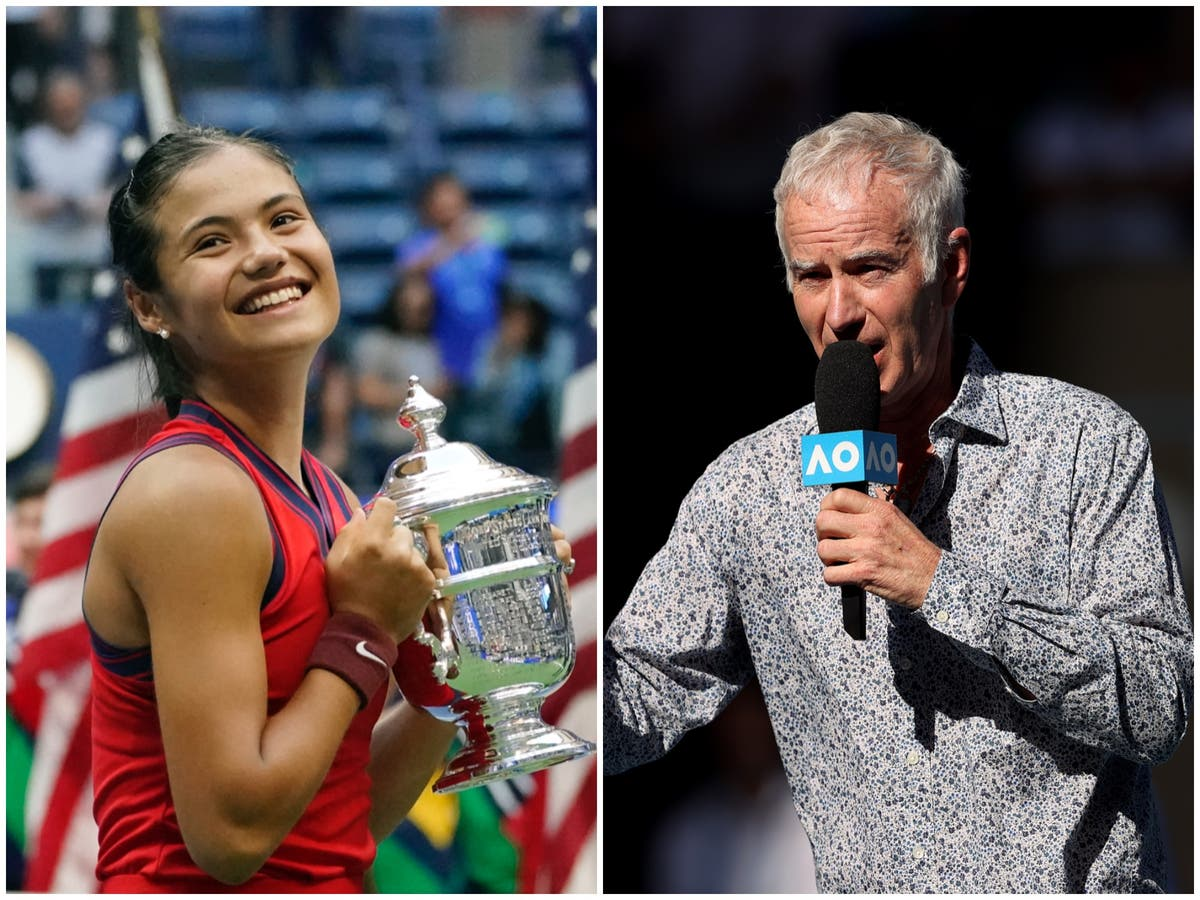 John McEnroe stands by controversial Emma Raducanu comments