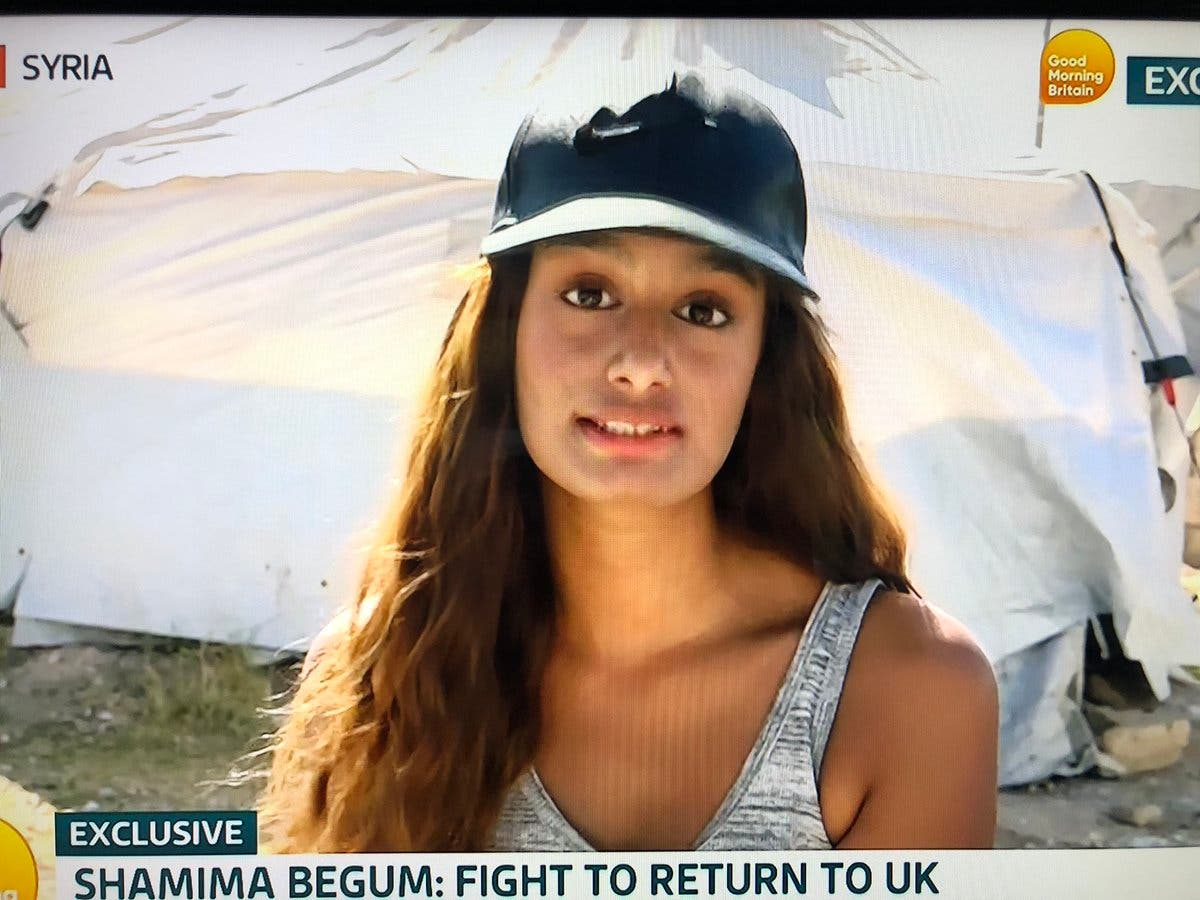 Shamima Begum says 'sorry' to Manchester bombing victims in GMB interview