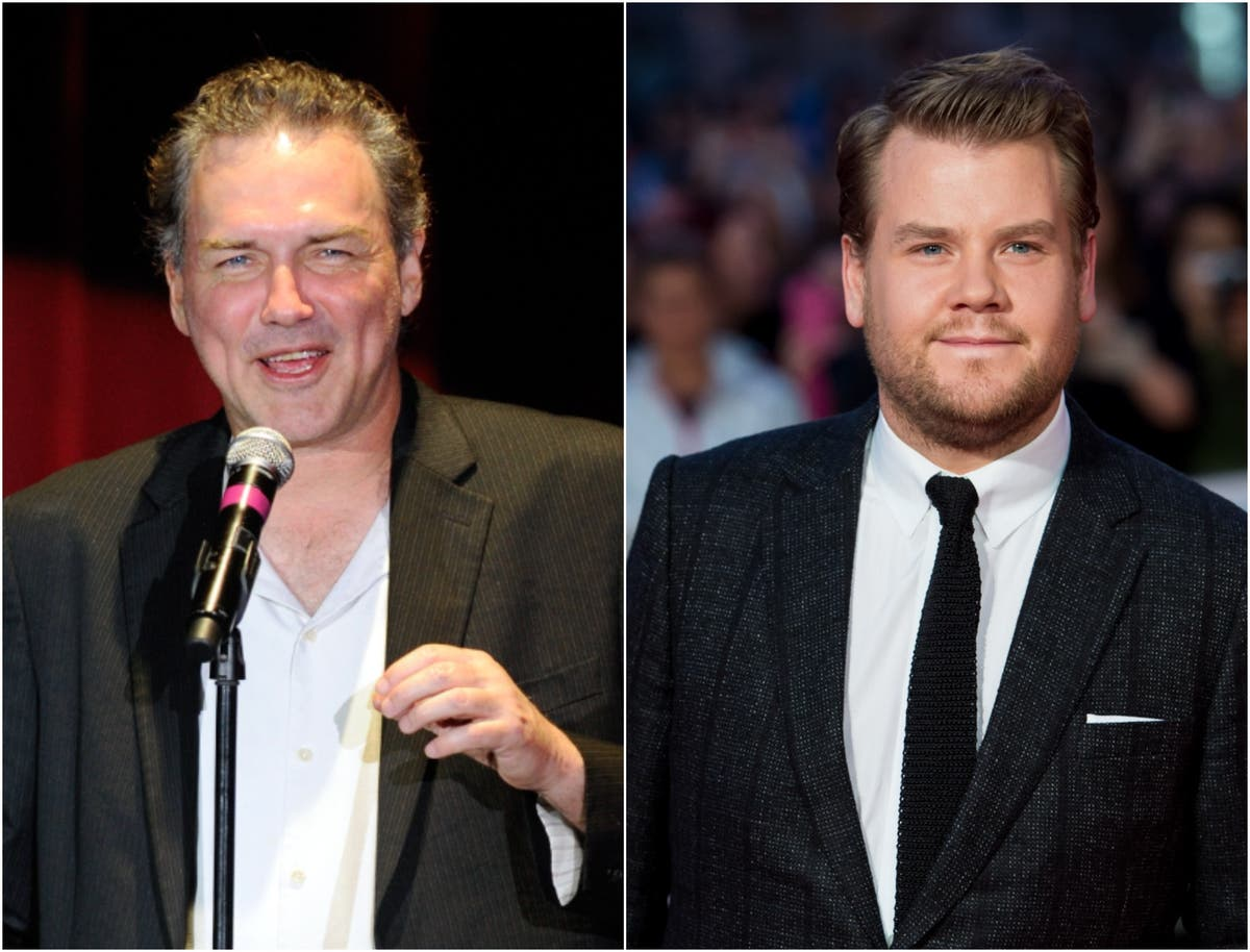James Corden pays tribute to 'comedy legend' Norm Macdonald