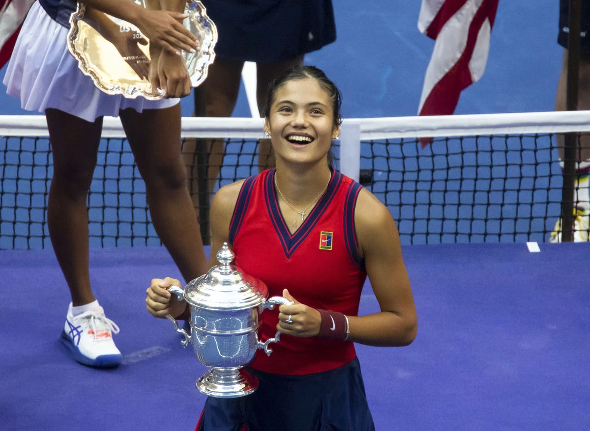 Emma Raducanu to have 'a few days' rest' after US Open 'cloud nine'