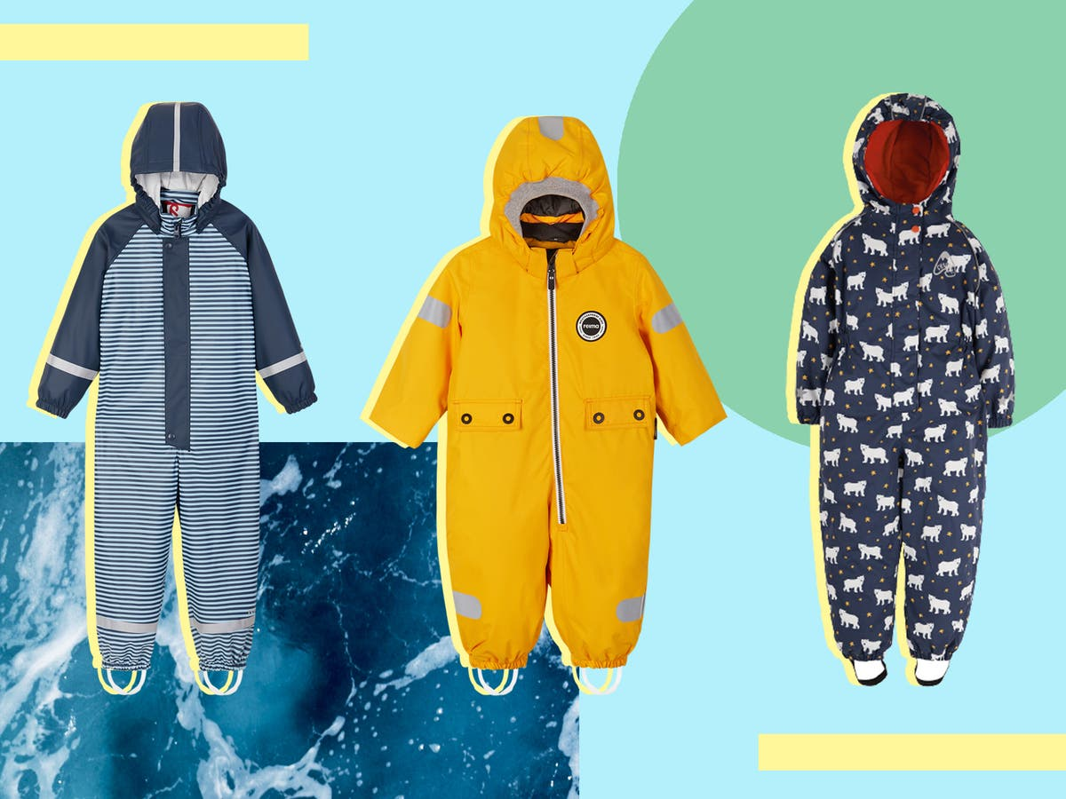 11 best kids' puddle suits for wet and windy adventures