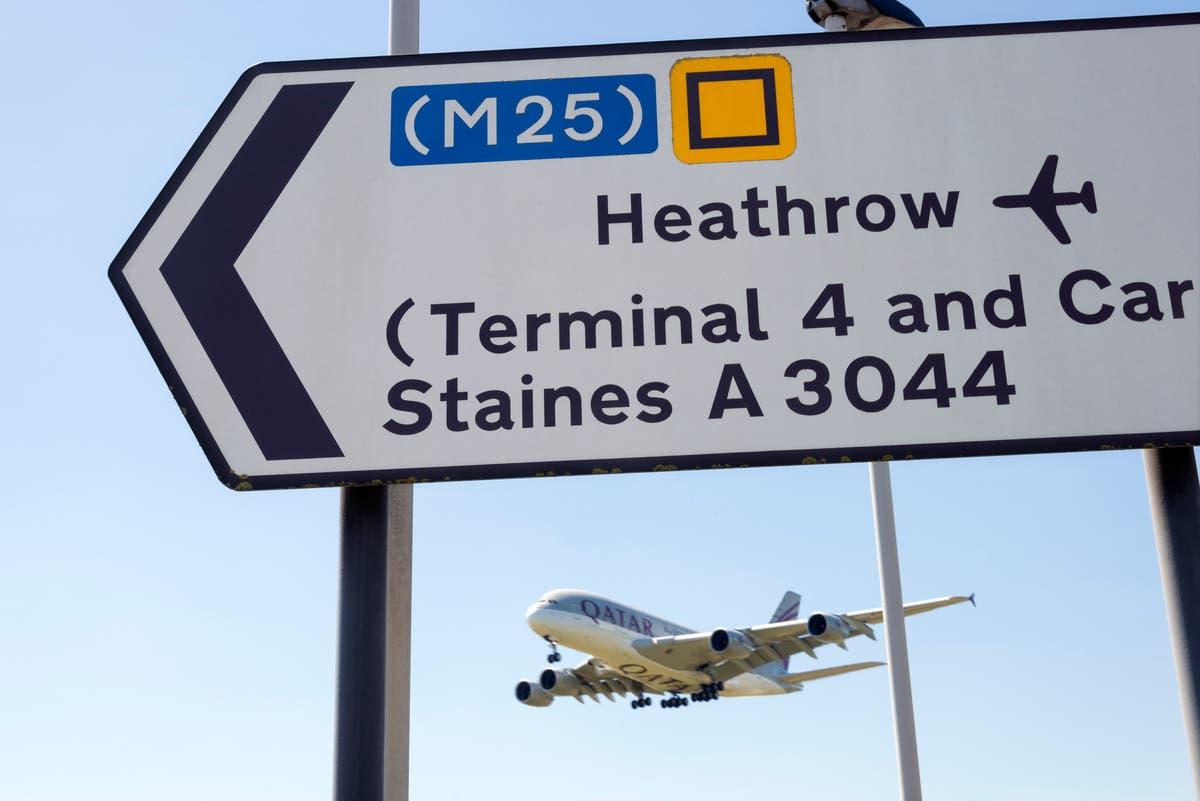 Lista de sucata âmbar e teste para o jabbed duplo, diz chefe de Heathrow